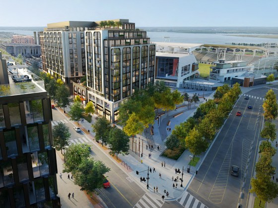 A Few More Looks at the Mixed-Use Project Coming Next to DC's Audi Field
