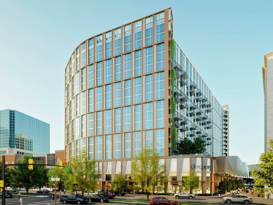 555 Apartments and a Grocery Store Proposed to Replace Ballston Macy's