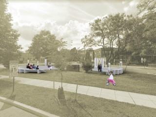 Plans for a Triangular Park in DC's Kingman Park