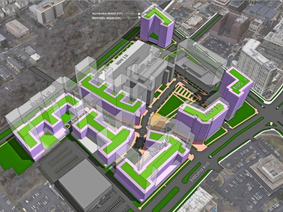 The 2.5 Million Square Feet of Mixed-Use Development Coming to Montgomery County