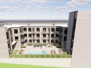 30 Apartments Proposed for Arlington Parking Lot Site