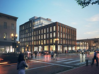 A New Design Pitched For 100-Room M Street Hotel in Georgetown