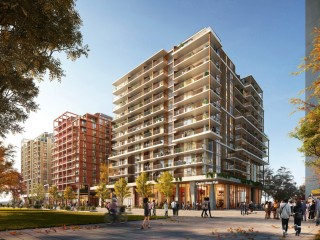 """748 Units, a Grocery Store, and a Sandlot: The First Phase of the """"Bridge District"""""""