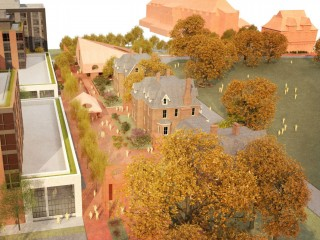 A Memorial Garden and More Hardscaping: Gallaudet's Latest Plans for its Outdoor Space
