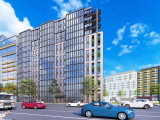 A Raze Application Paves Way For 116-Unit Triangular Building Off New York Avenue