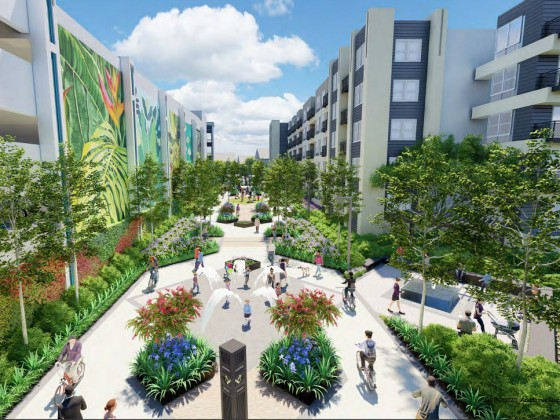 Key Approval For Beltway Plaza Mall Redevelopment Paves Way for 750 Art-Deco Units