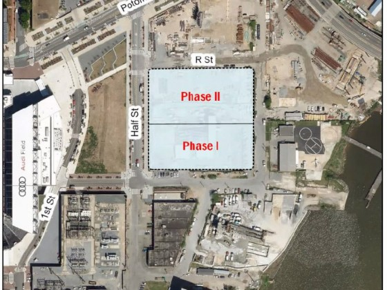 451 Units Followed By Full-Service Grocery: The Plans for a Buzzard Point Concrete Plant