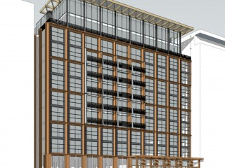 A 264-Unit Office-to-Residential Conversion Proposed for 15th Street Building