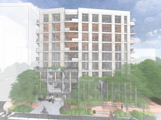 110 Units (Including Live/Work) Proposed for Bethesda Midas Site