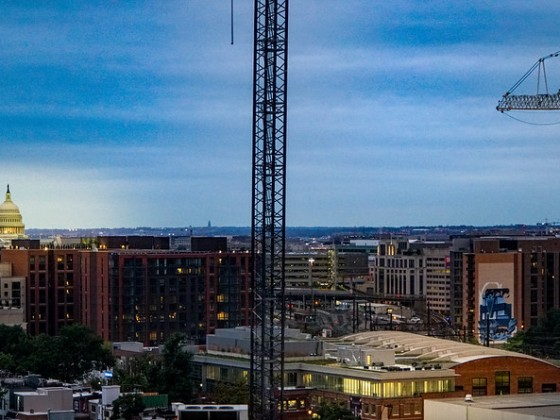35 High: DC Has Third Highest Crane Total For a U.S. City