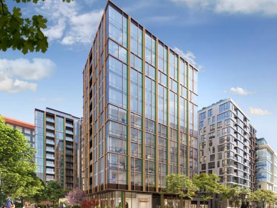 Skanska's New 275-Unit NoMa Building Breaking Ground Soon