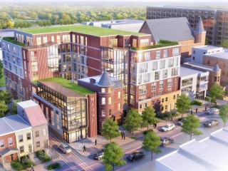 A Glimpse of the 80-Unit Affordable Development Proposed for a Shaw Block