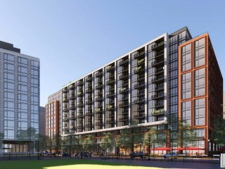 450 Apartments + A Grocery Store: A First Look at the Latest Development Proposed at Buzzard Point
