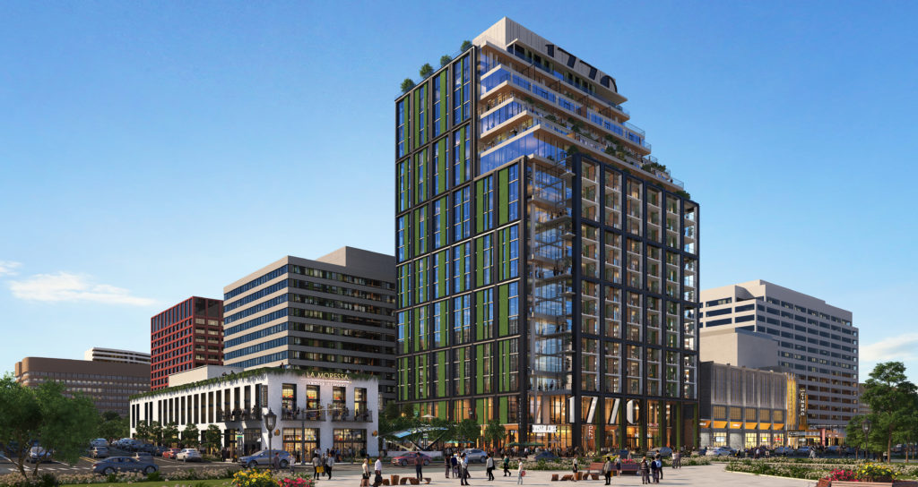 365 Units for JBG's Crystal City Office-to-Residential Conversion: Figure 1