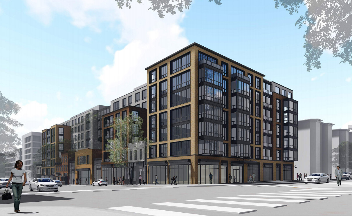 A First Look at the Large-Scale Residential Plans for Martha's Table Former 14th Street Headquarters: Figure 1