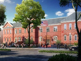 Developer Seeks to Rezone DC's Grimke School Site for Redevelopment