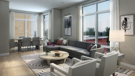 1745N: The Row and the Flats