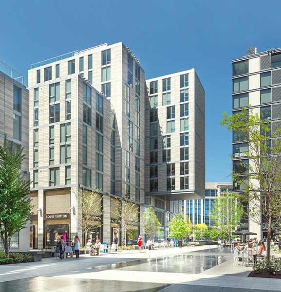 Downtown Washington Dc Apartments: The Residences At City Center