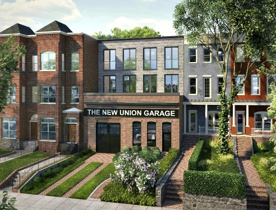 The New Union Garage Residences: Figure 1