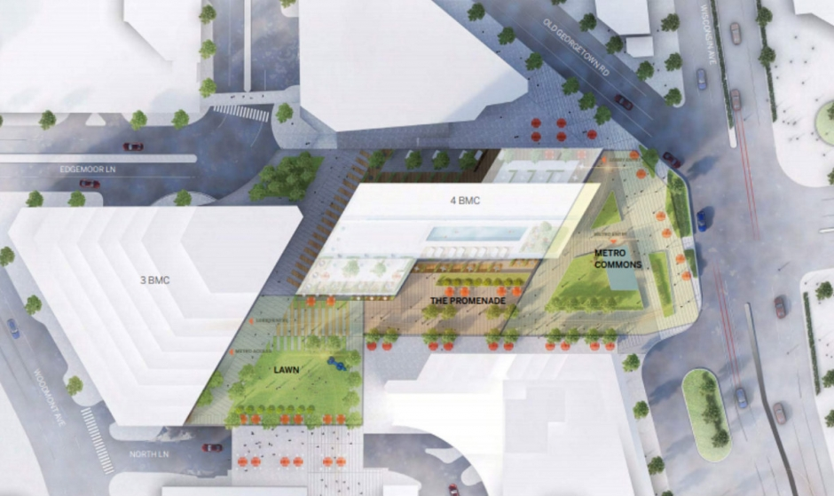 Bethesda Metro Center Plaza Redevelopment