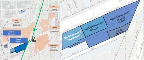 500-600 Blocks of Rhode Island Avenue: Figure 1