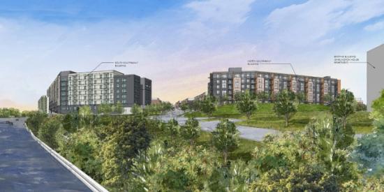 Park Shirlington Redevelopment: Figure 1