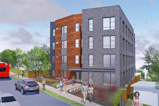 17 Mississippi Avenue Apartments: Figure 1